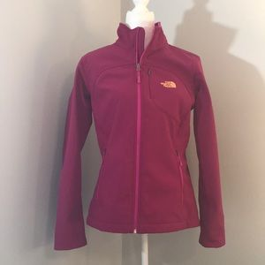 NORTH FACE Magenta Gortex Jacket